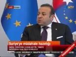 egemen bagis - Egemen Bağış Suriyeye Müdahale Hazırlığını Değerlendirdi