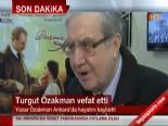 Şu Çılgın Türkler Yazarı Turgut Özakman Hayatını Kaybetti