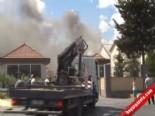 Sahil Güvenlik Komutanlığı'nda Yangın