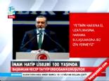 imam hatip liseleri - Başbakan Erdoğan: Yolsuzluğa Karışan Evladım Olsa Reddederim