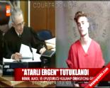 ATV Ana Haber'e Justin Bieber Tepkisi : Atarlı Ergen Tutuklandı Başlıklı