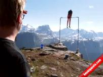 Akrobasi yapayım derken 1200 metreden düştü