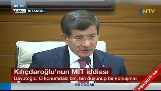 riza turmen - Kılıçdaroğlu'nun MİT iddiasına Davutoğlu'ndan yanıt