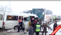 Nevşehir Acıgöl'de Öğretmen Servisi ile Yolcu Otobüsü Çarpıştı: 2 Ölü 11 Yaralı