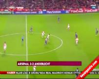 Arsenal Anderlecht: 3-3 Maç Özeti ve Golleri (04 Kasım 2014)