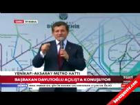 mescid i aksa - Başbakan Davutoğlu, Yenikapı-Aksaray hattı açılışında konuştu