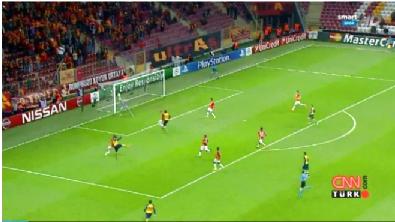 Galatasaray Arsenal: 1-4 Maç Özeti ve Golleri (9 Aralık 2014)