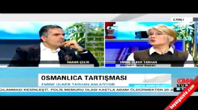 Anadolu Partisi Genel Başkanı Emine Ülker Tarhan'dan Osmanlıca Açıklaması