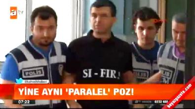 idris naim sahin - Gözaltına Alınan Paralel Örgüt Üyelerinden Aynı Poz!