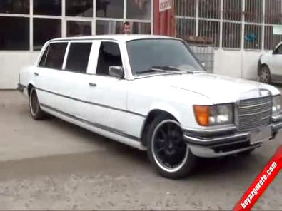 Mercedes görünümlü Limuzin