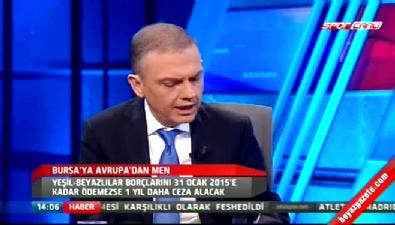 Ercan Taner UEFA'nın Bursaspor kararını yorumladı...
