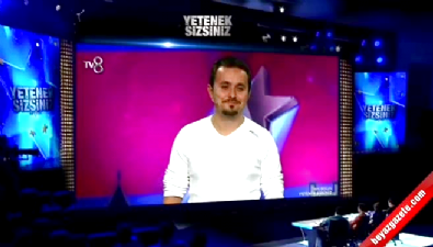 Yetenek Sizsiniz Türkiye- Çağrı Bayrak Taklit performansı