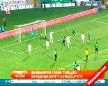 belediyespor - Bursaspor Akhisar Belediyespor: 3-0 Maçın Özeti