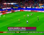 Atletico Madrid Milan: 4-1 Maç Özeti ve Golleri (11 Mart 2014)