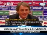 Mancini: Kağıt Olayı Beni İlgilendirmiyor