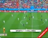 guney afrika - İspanya Hollanda: 1-5 Maç Özeti ve Golleri (2014 Dünya Kupası) 13 Haziran 2014