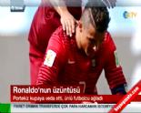 ronaldo - 2014 Dünya Kupası'ndan Elenen Portekiz'in Yıldızı Cristiano Ronaldo Saha Kenarında Ağladı