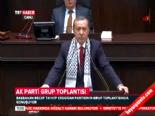 Başbakan Erdoğan Grup Toplantısına Kılıçdaroğlu'nun Görüntüsüyle Başladı