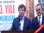 Dışişleri Bakanı Ahmet Davutoğlu, Fetih Yemeğine Katıldı