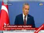 Bülent Arınç'tan Ahmet Necdet Sezer'e gönderme
