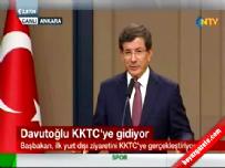 Davutoğlu KKTC'ye gidiyor