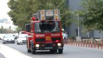 İstanbul Bakırköy CNR Fuar Merkezi'nde Yangın Çıktı
