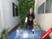 iPhone 6'ya Balyozla Dayanıklılık Testi