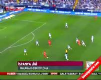 Malaga Barcelona: 0-0 Maç Özeti (24 Eylül 2014)