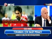 ibrahim toraman - İbrahim Toraman'dan Beyaz Futbol'a Özel Açıklama: Çok Basit Penaltı