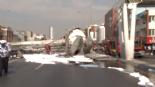 İstanbul Avcılar E-5 Karayolu'nda Üst Geçit Çöktü.. İşte Olay Yerinden İlk Görüntüler