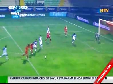 emre colak - Galatasaray Guaratingueta: 6-0 Hazırlık Maçı Özeti ve Golleri (18 Ocak 2015) Royal Cup Turnuvası  Videosu