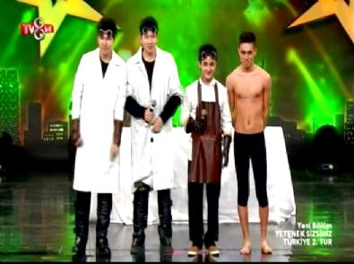 Yetenek Sizsiniz Türkiye - Atai Omurzakov ve Tumar KR Grubu 2. Tur Dans Performansı