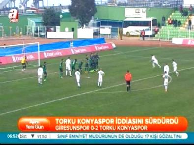 Giresunspor Torku Konyaspor: 0-2 Türkiye Kupası Maç Özeti (27 Ocak 2015)