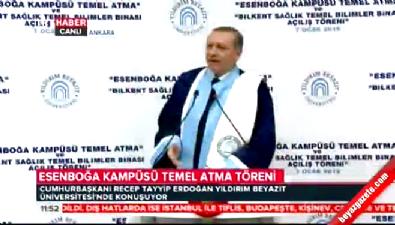 Cumhurbaşkanı Erdoğan: Kampüs yerine külliye daha güzel olur