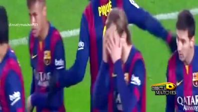 kral kupasi - Barcelona 5-0 Elche (Maç Özeti)  Videosu
