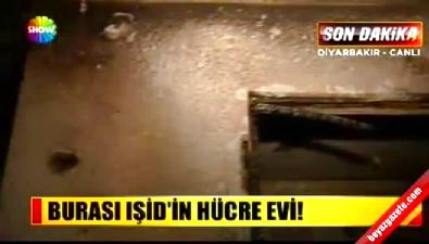 show tv - Işid'in Diyarbakır'daki hücre evi görüntülendi