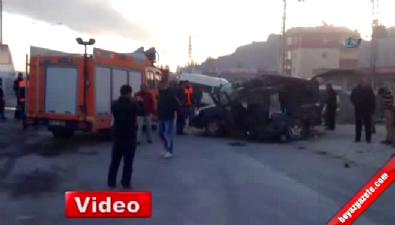 mehmet sahin - Ağrı'da feci kaza 7 ölü