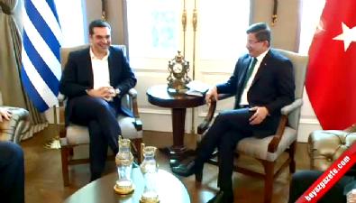 Yunanistan Başbakanı Çipras Çankaya Köşkü'nde