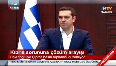 Aleksis Çipras: Kendimi bildim bileli Kıbrıs'ı tartışıyoruz