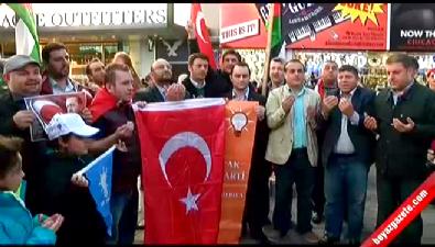Times Meydanı'nda AK Parti'nin zaferi kutlandı