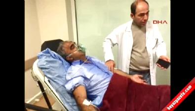 Gazdan etkilenen HDP'li vekil hastaneye kaldırıldı