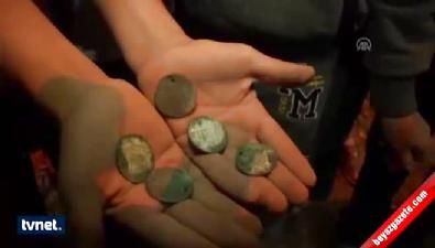 bagdat - Gazze'de Osmanlı parası bulundu