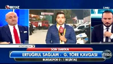Bursa'da maç sonu ortalık karıştı
