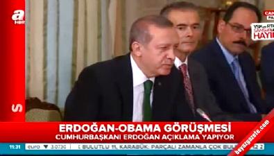 iklim degisikligi - Erdoğan ile Obama'dan görüşme sonrası açıklama  Videosu