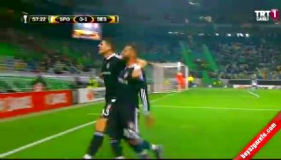 Mario Gomez'den müthiş gol