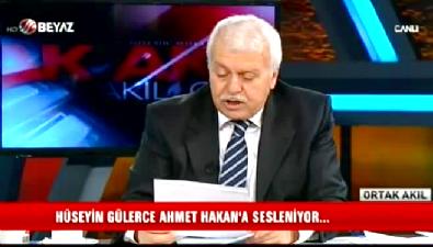 Hüseyin Gülerce'den Ahmet Hakan'a cevap