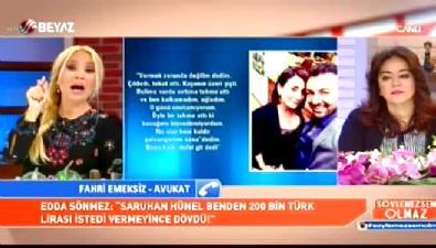 Edda Sönmez'in avukatı Fahri Sönmez darp iddialarına cevap verdi