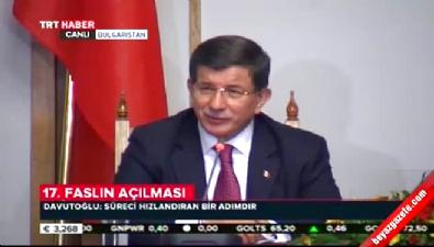 Başbakan Davutoğlu Bulgaristan'da konuştu