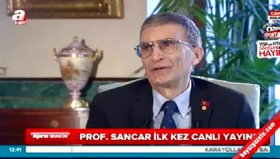 Aziz Sancar: Osmanlı ile gurur duyuyorum