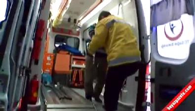 Servis minibüsü devrildi: 25 işçi yaralı